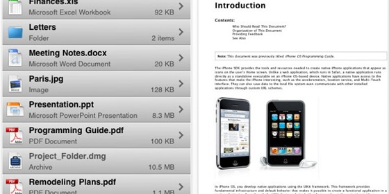 Geheimtipp: File Viewer für iPhone und iPod Touch ist gerade kostenlos