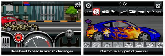 Der Sonntag wird zum Renntag: Drag Racer Pro für iPhone und iPod Touch kostenlos