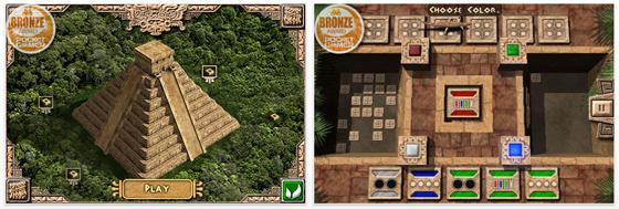 Kostenlose Uno Variante für das iPhone: Secret of lost Pyramid