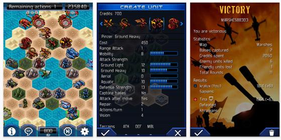 Rundenbasiertes Multiplayer-Spiel UniWar für das iPhone heute als kostenlose App-Vollversion