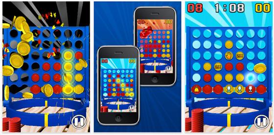 Zahlreiche Erweiterungen und neue Spielmodi machen 4 gewinnt fit für das iPhone und den iPod Touch