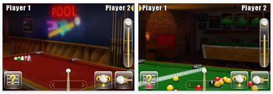 Billiard allein oder gegen Freunde oder andere Online Spieler bietet Anytime Pool