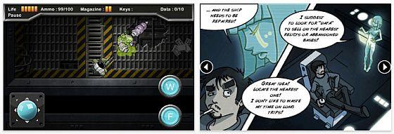 Weltraumshooter Data Hunter heute für iPhone und iPod Touch kostenlos