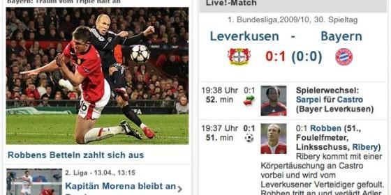 Die Fußball-App für das iPhone ist da: kicker!