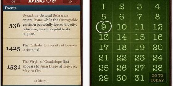 Was geschah heute vor X Jahren? Die App On this Day sagt es kostenlos…