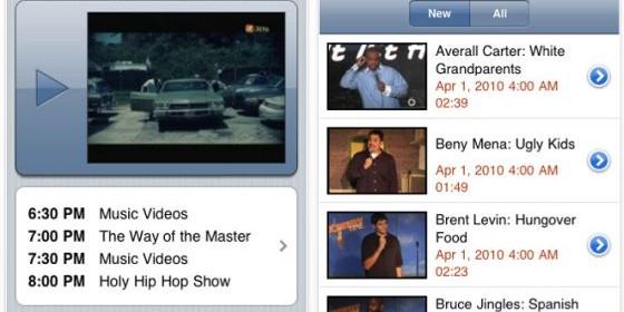 Eine große Auswahl an kostenlosen TV-Stationen bietet die App SPB TV für iPhone und iPod Touch