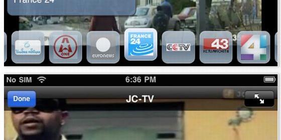 Die App bietet sogar eine PIP-Funktion, über die man zwei Sender gleichzeitig sehen kann.