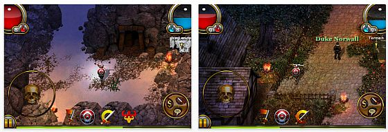 Rollenspiel Underworlds im Diablo-Stil für iPhone und iPod Touch heute kostenlos