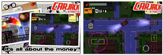Heute kostenlos: CAR JACK STREETS – Game im GTA Stil für iPhone und iPod Touch