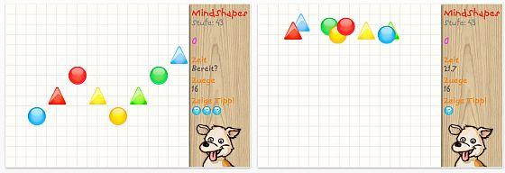 Top bewertet und kostenlos: Mindshapes für iPhone und iPod Touch
