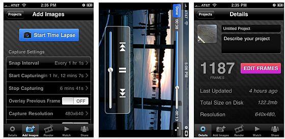 iTimeLapse kostenlos – erstelle mit dem iPhone eigene Zeitraffervideos