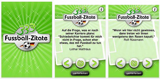 333 fussball-zitate zur einführung kostenlos für iphone, ipod