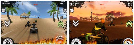 Gerade kostenlos für iPhone und iPod Touch: Dirt Moto Racing – das Quad Rennspiel