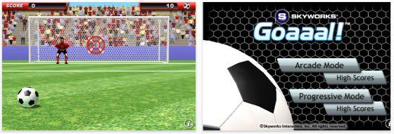GOAAAL! – der Spielpausenkiller für iPhone und iPod Touch-Nutzer ist gerade kostenlos