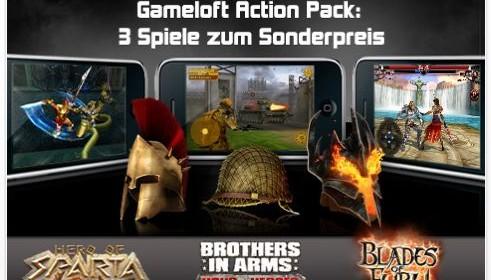 Gameloft App Packs für das iPhone und den iPod Touch mit drei Apps – jetzt 3,99 Euro statt 12 Euro