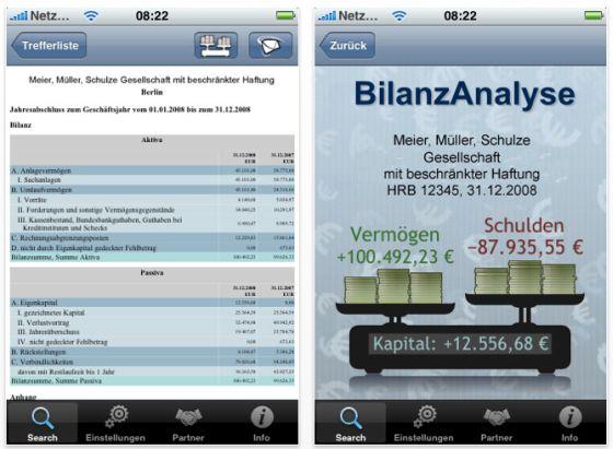einfach mal in die b cher schauen mit der kostenlosen app bilanzspion app. Black Bedroom Furniture Sets. Home Design Ideas