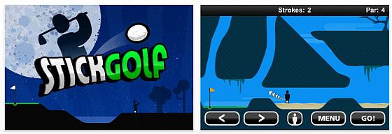 2D-Golfspiel Stick Golf ist heute kostenlos