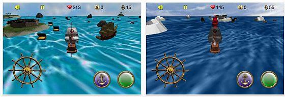 Mit dem iPhone und iPod Touch gegen Piraten kämpfen und Schätze sammeln: The High Seas ist gerade kostenlos