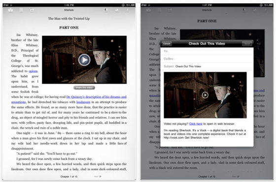 The Sherlock Homes Experience iPad Edition Screenshot