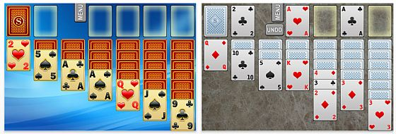 Screenshot Solitaire fr iPhone und iPod Touch