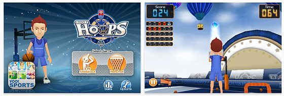 Yoo Hoops fr das iPhone Screenshot