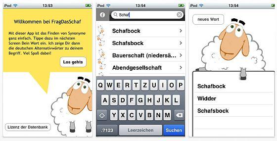 Frag das Schaf Screenshot für iPhone und iPod Touch