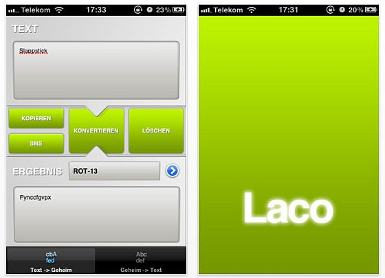 LACO Screen