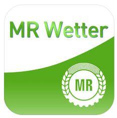Mit der kostenlosen iPhone App MR Wetter braucht der Landwirt keine Bauernregeln mehr