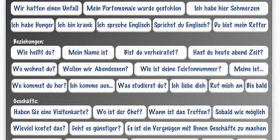 Kurztipp: Die 80 wichtigsten Sätze italienisch auf dem iPad vorsprechen lassen