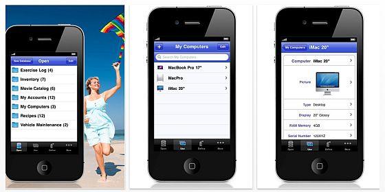 iDatabase für iPhone und iPod Touch ist gerade wieder kostenlos