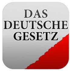 Deutsche Gesetzessammlung jetzt auch für iPhone, iPad und iPod Touch