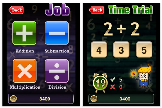 Math Academy Tag Screenshot App fr iPhone, iPod Touch und iPad