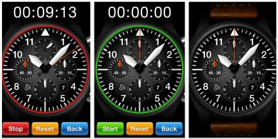 Kurztipp: Verwandle Dein iPhone oder Deinen iPod Touch in einen Chronographen