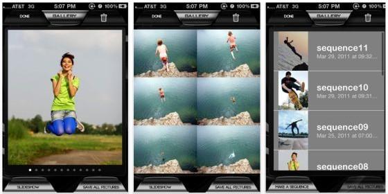Neue App: Swift Snapshot für Bilderserien mit dem iPad2, iPhone und iPod Touch 4. Generation