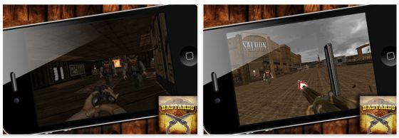 Bastards gerade kostenlos für Wildwest-Fans und Nostalgiker unter den iPhone Nutzern