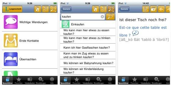 Vier Langenscheidt Talk & Travel Apps zur Einführung statt 9,99 Euro kurzzeitig kostenlos