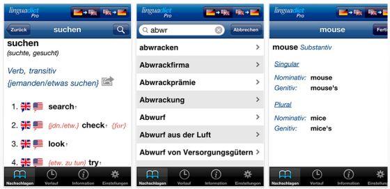 PromoCodes für Übersetzungs-App LinguaDict Pro zu gewinnen