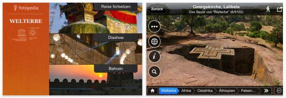Fotopedia Heritage jetzt auch in deutscher Sprache für iPhone und iPad erhältlich