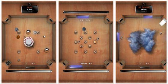 Paddle-Spiel Multipong bis 13. Juni für iPhone, iPod und iPad kostenlos