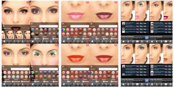 Styling-App für Make-Up und Frisuren gerade kostenlos für iPhone, iPod und iPad
