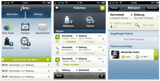 flinc iPhone App Screenshot