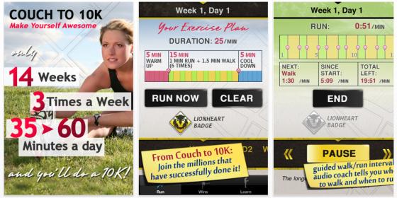 Runter vom Sofa – neu erschienene, gute Lauf-Training-App ist heute kostenlos