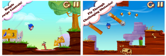 Early Bird iPhone-Spiele App Screenshots