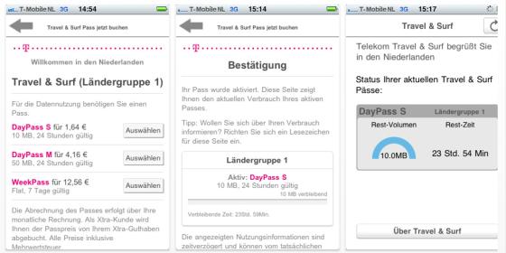 Deutsche Telekom bringt App zur Kostenkontrolle beim Surfen im Ausland