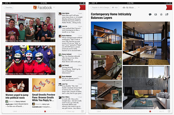 Flipboard Screenshots