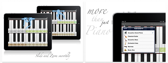 Real Piano HD Pro Screenshot