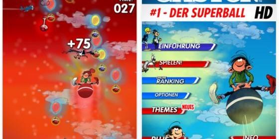 Zwei niedliche Gaston Spiele für iPhone, iPod Touch und iPad kurzzeitig kostenlos