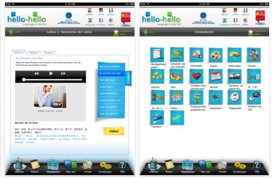 Hello-Hello Chinesisch für iPad - Screenshot