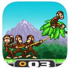 Monkey Flight komplett überarbeitet und jetzt kurze Zeit kostenlos für iPhone, iPod Touch und iPad