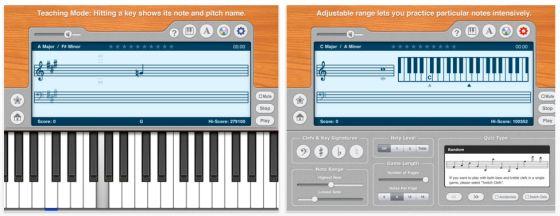 Piano Notes Pro heute kostenlos – gutes Tool für Klavier-Lehrer und -Lernende
